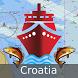 Croatia Marine/Nautical Charts by Gps Nautical Charts