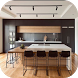 Minimalist Kitchen Ideas by FIBERAL