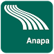 Anapa Map offline by iniCall.com