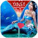 Mermaid Zipper Lock Screen