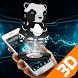 Iron Panda 3D Metal Theme by 3D Theme World
