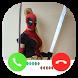 Fake Call From Deadpool girl by Amanda Ltd