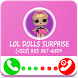 Lol doll Surprise fake call - surprise eggs
