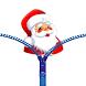 Santa Claus Zipper Lock Screen by Free zipper lock screen