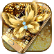 Golden Butterfly Keyboard by Keyboard Design Paradise
