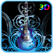 3D Guitar Live Wallpaper