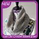 Easy DIY Crochet Ribbed Scarf by Karrie Studio