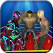 Superhero Wrestling Fighting Ring Champions by Trenzy