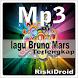 kumpulan lagu Bruno Mars mp3 by riskidroid