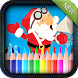 Christmas Coloring for kids by bluezone