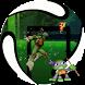 Jumping Mutant Ninja by Minar