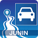 Mapa vial de Junín - Perú by DePeru.com