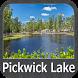 Pickwick Lake - Alabama gps map navigator by FLYTOMAP INC