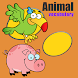 Animal Vocabulary practice by kids game learn
