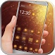 Gold glitter neon gold theme by Graceful Live wallpaper studio