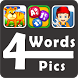 4 Pics 4 Words - Word Game by Nithra