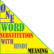 One Word Substitution & Hindi by NSG - LAB