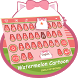 Watermelon Cartoon Theme&Emoji Keyboard by Cool Keyboard Theme Design