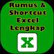 Rumus & Shortcut Excel Lengkap by Ahbar Studio