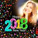 Happy New Year Photo Frame 2018 photo editor by Appwallet Technologies