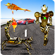 Scorpion Robot Transformation: Flying Car Wars by microclip
