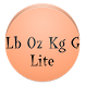 Pound Ounce Kilogram Gram Lite by Actually Useful Software