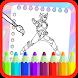 New Bima Hero X Coloring Book by Best Coloring Book Game Kids Studio