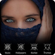 Muslim Islamic theme keyboard Masked beauty by Mary J Carter
