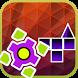 Happy Geometry Race: Dash Lite by Onivia Games
