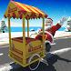 Ice cream Bike Driving Simulator: Christmas