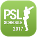 PSL Schedule T20 Cricket 2017 by Zerox