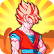 super goku saiyan battle dragon z by genious adam