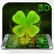 Lucky Clover 3D Theme for LG by Launcher 3D Pro