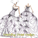 Wedding Dress Design Sketches