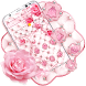 Diamond Rose Pink Theme by Best Cool Theme Dreamer