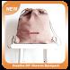 Creative DIY Chevron Backpack
