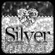 Silver Diamond Keyboard by Cool Keyboard Theme Studio