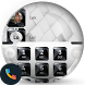 Black White Gems Dialer Theme by Themes Messages Contacts Dialer by Double L
