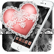 Silver Heart: Black and White Lace Theme by Theme King