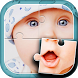 Cute Baby Jigsaw Puzzle by Kaya