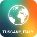 Tuscany, Italy Offline Map by EasyNavi