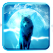 Wolf theme howling night by lovethemeteam