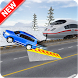 Chained Cars Vs.Train Car Stunts Racing 3D