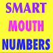 Smart Mouth Numbers by Warrior Creations