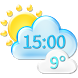 Climate Weather Clock Widget by Super Widgets
