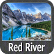 Red River - Louisiana gps map navigator by FLYTOMAP INC