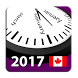 2017 Canada Calendar NoAds by Rhappsody Technologies