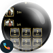 Frame Black Gold Dialer Theme
