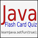 Java Flash Card Quiz by Highly Clever Software LLC
