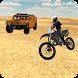 Police Motorbike Desert Offroad